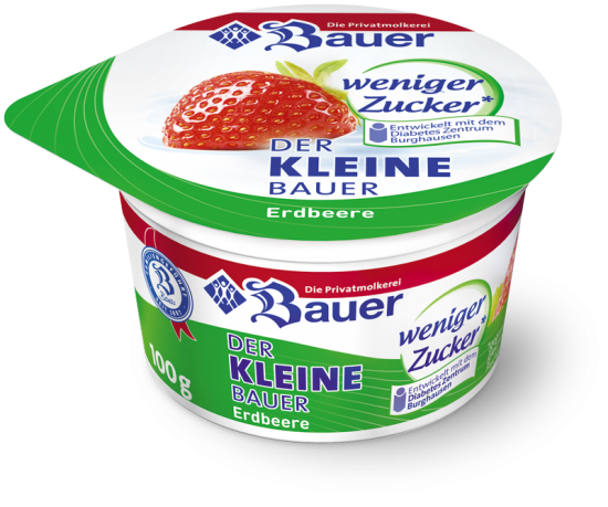 DER KLEINE BAUER Strawberry less sugar 100g