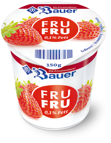 Fru Fru Strawberry 0,1% fat 150g
