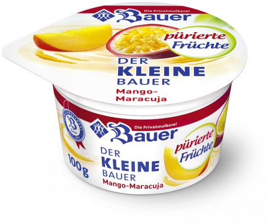 DER KLEINE BAUER Mango - Passion Fruit pureed fruits 100g