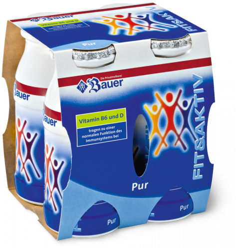 Fit & Aktiv Pure Drink 4x100g