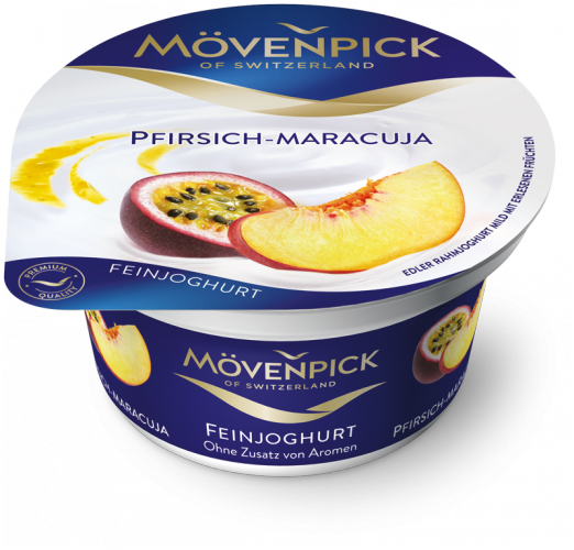 Feinjoghurt Peach - Passion Fruit 150g