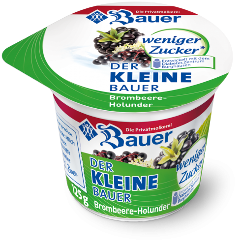 DER KLEINE BAUER Blackberry - Elder less sugar 125g