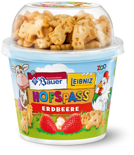 Hofspass Strawberry Yoghurt 130g