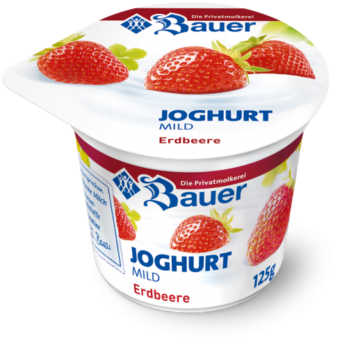 Joghurt mild Strawberry 125g