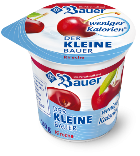 DER KLEINE BAUER Cherry  fewer calories 150g