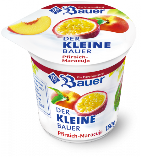DER KLEINE BAUER Peach - Passion Fruit 150g
