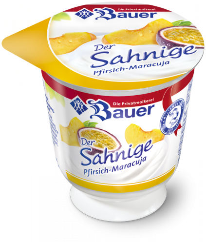 Der Sahnige Peach - Passion Fruit thick & creamy 150g