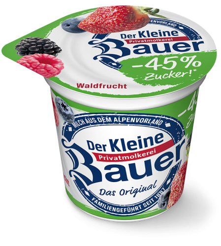 DER KLEINE BAUER forest fruit less sugar 150g